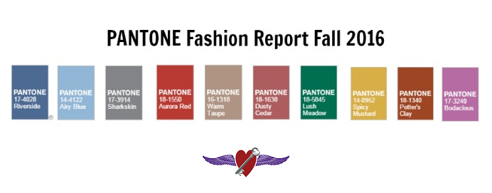 pantone fall 2016 colors