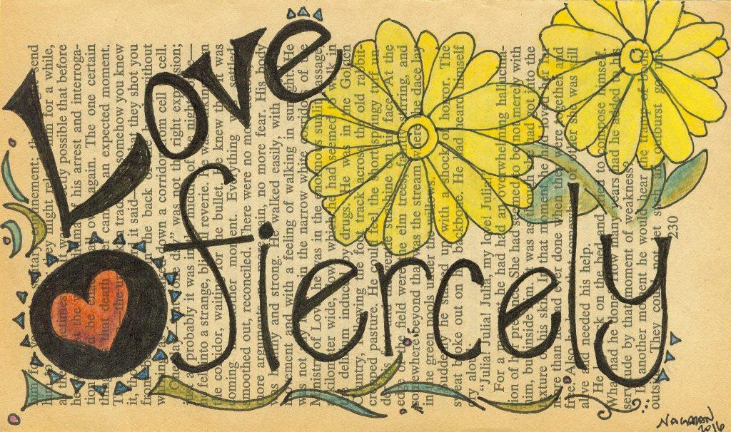 love fiercly