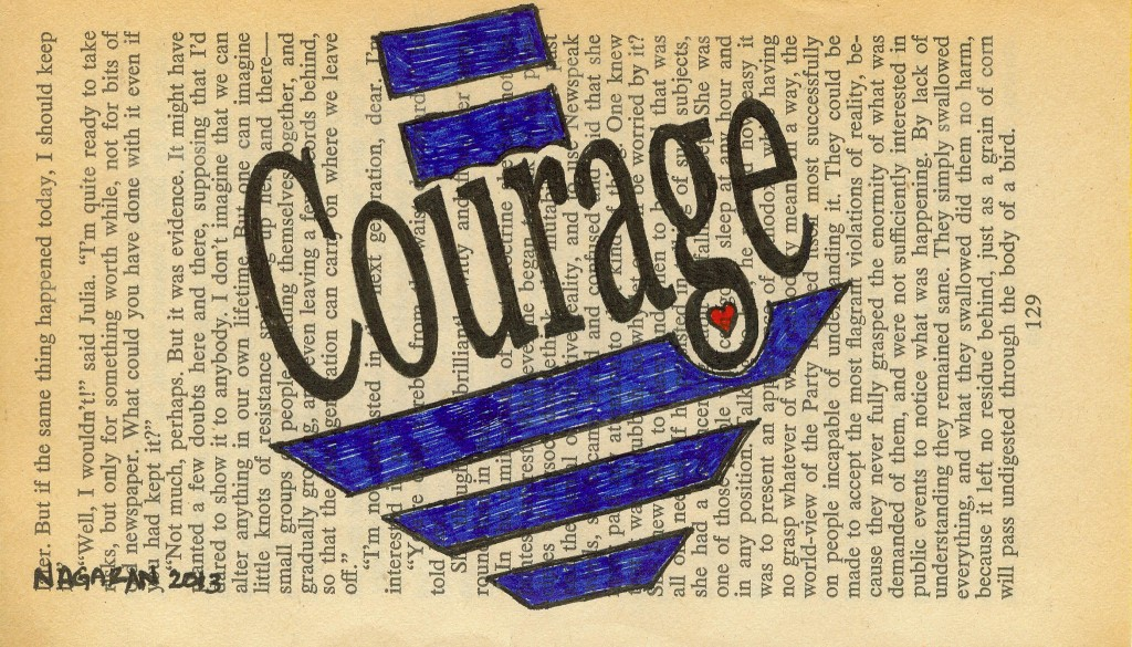 002 courage page drawing