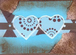 art card 10_two blue hearts