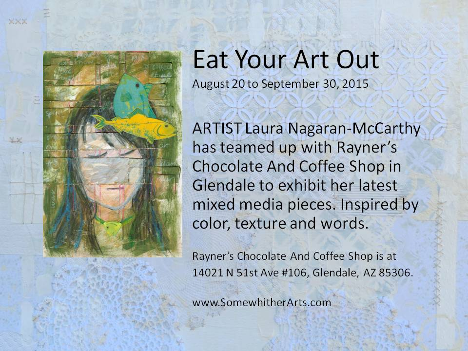 Eat Your Art Out flyer